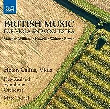 British Music for Viola Concertos