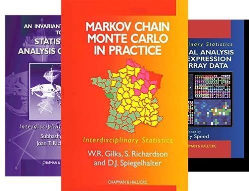 Chapman & Hall/CRC Interdisciplinary Statistics (41 Book Series)