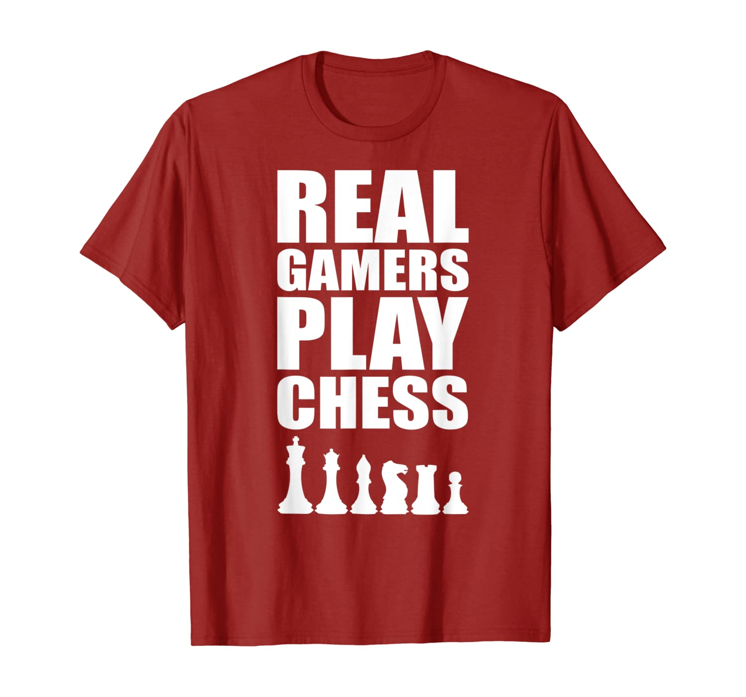 Real Gamers Play Chess Chessmaster Board Game Shirts