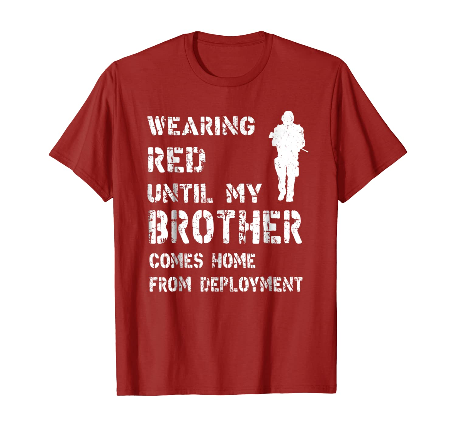 On Fridays We Wear Red Until My Brother Comes Home