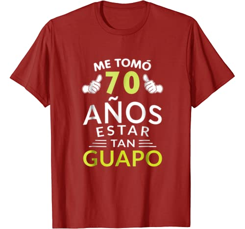 Amazon.com: Mens Hombre PLayera Cumpleanos 70 1949 70 Anos ...