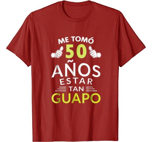 Amazon.com: Mens Hombre Playera Cumpleanos 50 1969 50 Anos ...
