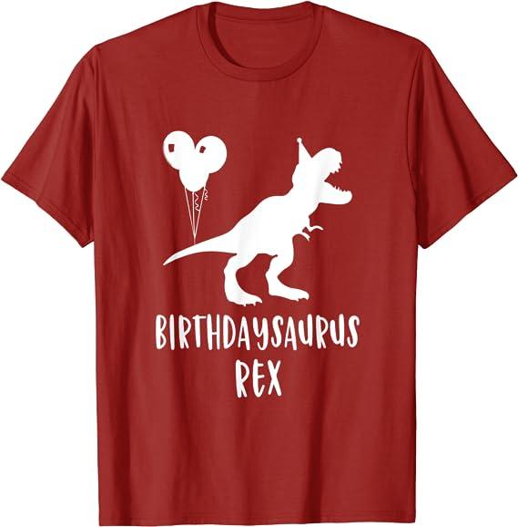 Designersaur T-REX T-SHIRT T-REX Dinosaur Tyrannosaurus Funny birthday gift