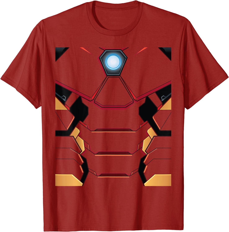 Marvel Iron Man Tony Stark Costume T-Shirt