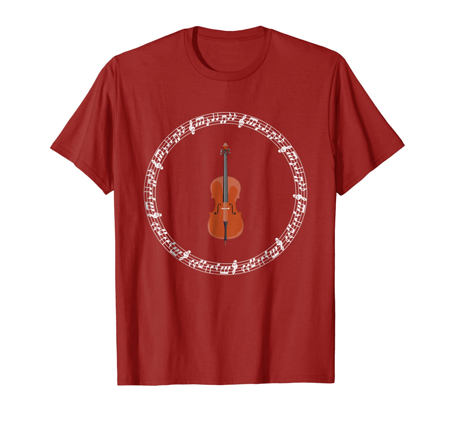 Cello Music Player Funny Cellist Orchestra T-shirt