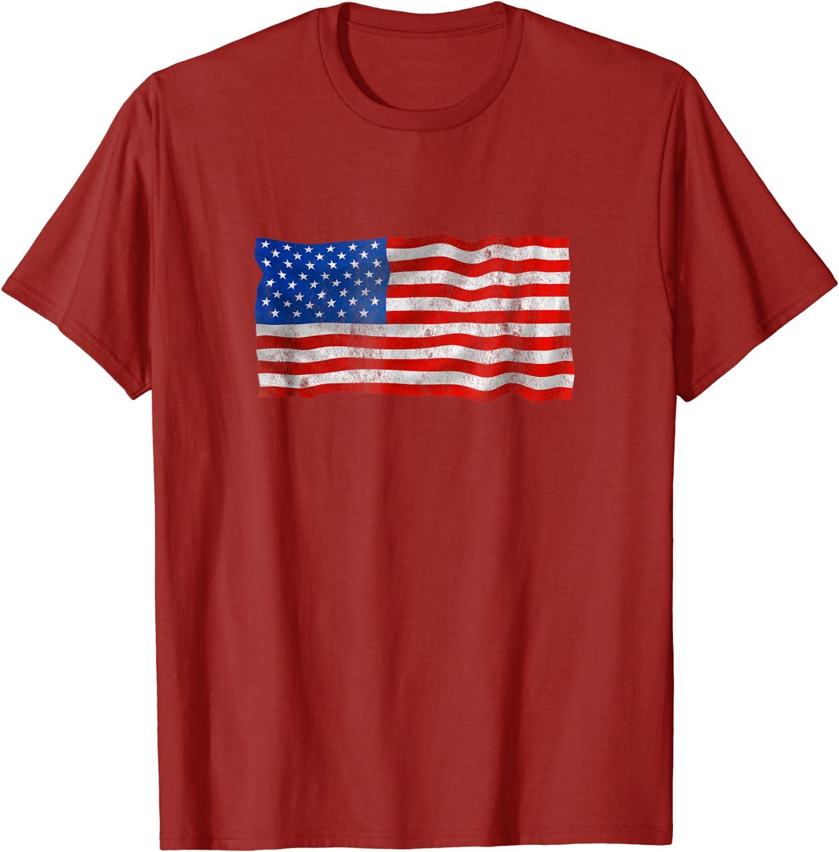 LU98ji@ Womens USA Flag Peace Sign Crop Tops Tee Short Sleeve Tops Blouse for Women