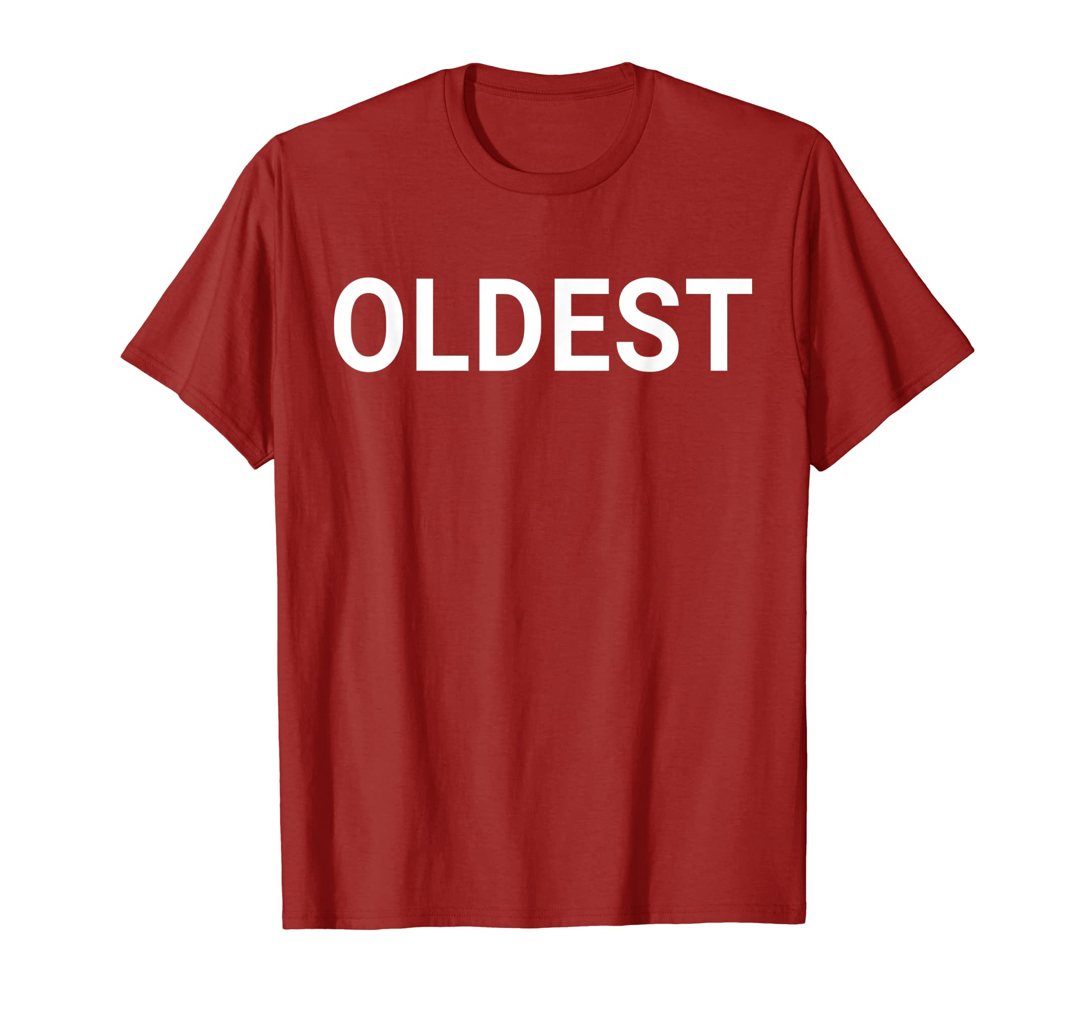e5cc649c2 Amazon.com: Oldest Child | Middle Child | Youngest Child Shirt Matching:  Clothing