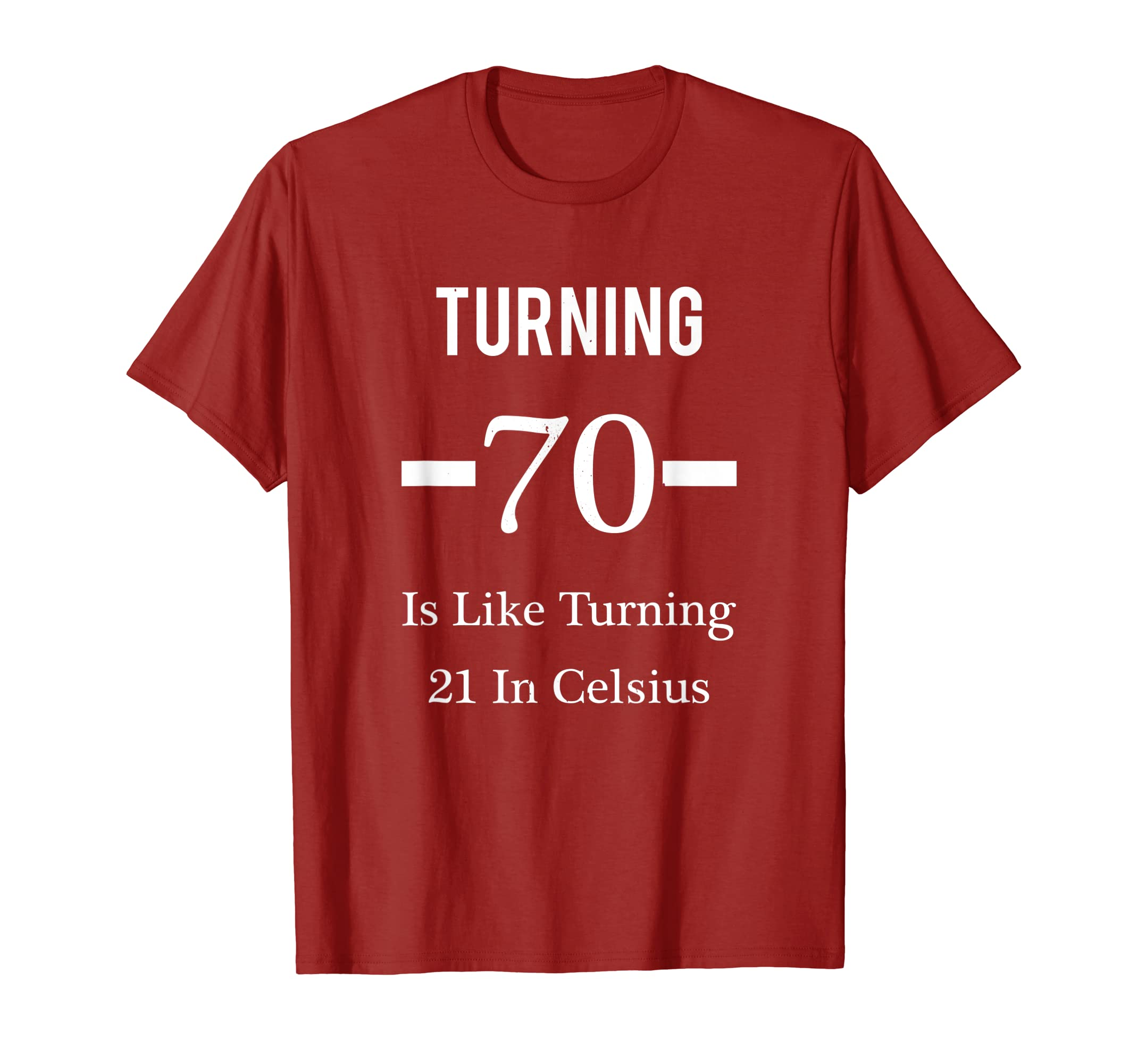 Amazon Funny Happy 70th Birthday T Shirt For Men Or Women Clothing
