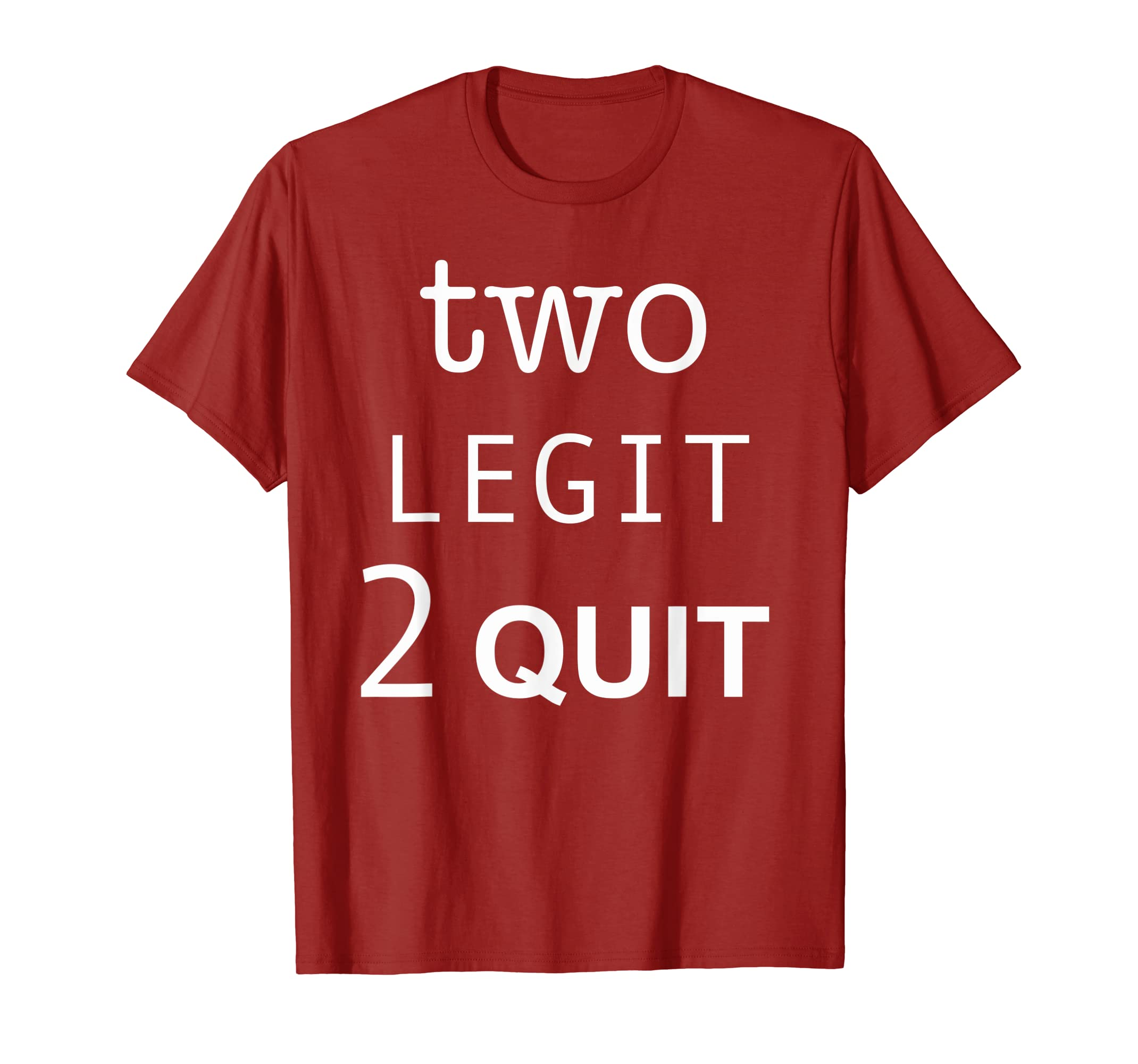 Amazon Kids 2 Year Old Toddler Two Legit To Quit Birthday T Shirt Clothing