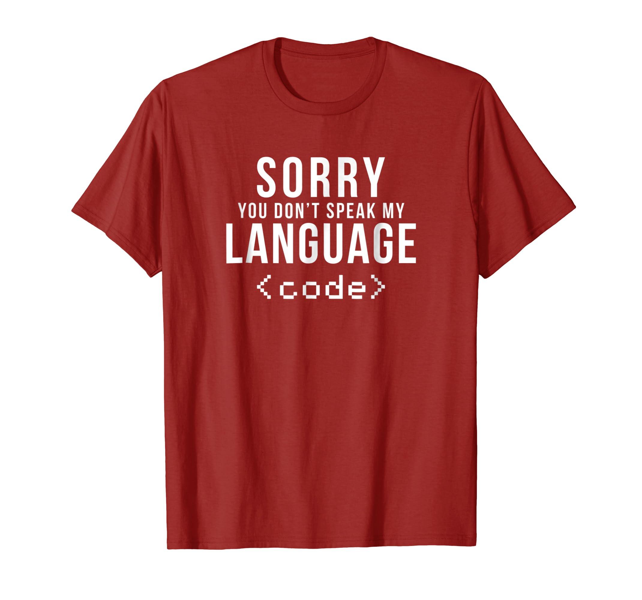 Amazon com: Programmer Language Code Computer Science Geek T