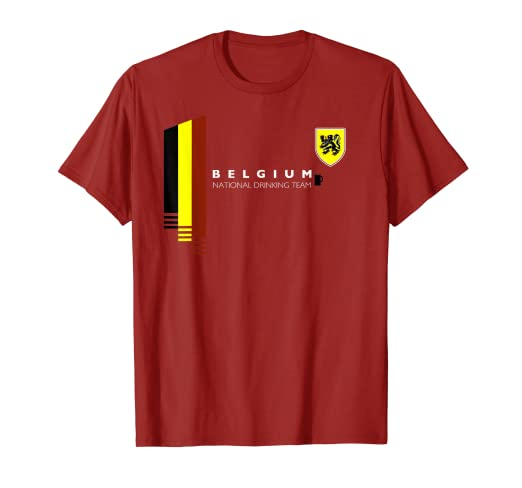 0e78f9071 Image Unavailable. Image not available for. Color  Belgium National  Drinking Team
