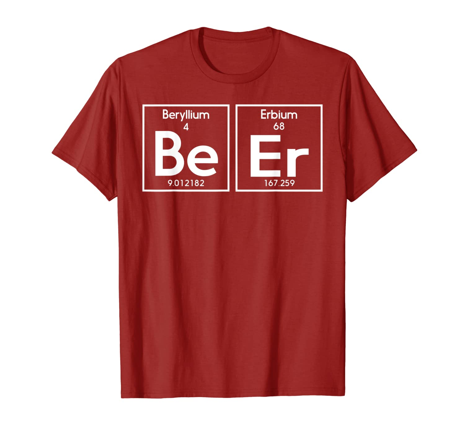 Surprising Amazon Com Beer T Shirts Beer Periodic Table Shirt Clothing Home Interior And Landscaping Ferensignezvosmurscom