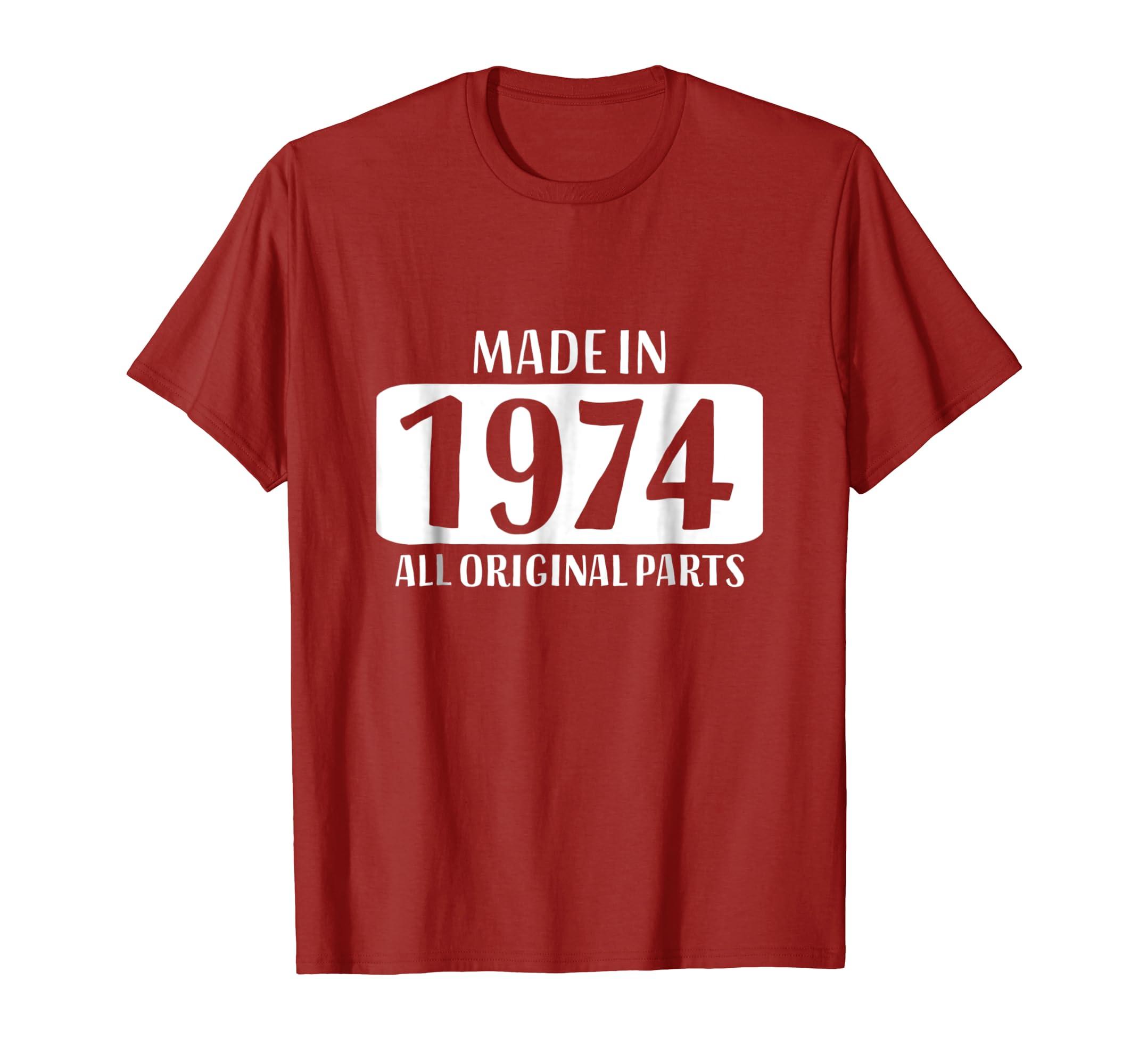 Amazon 45th Birthday Tshirt Gift Dad Mom 45 Year Old Women Men Clothing