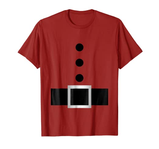 4559bc93b33 Image Unavailable. Image not available for. Color  Santa Claus costume  outfit suit christmas gift grandpa shirt