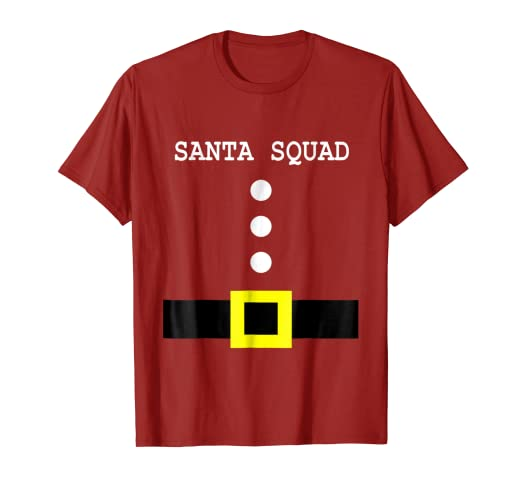 Image Unavailable. Image not available for. Color  Santa Squad Family Set  Matching Pajama Shirt ... 4c6899dba