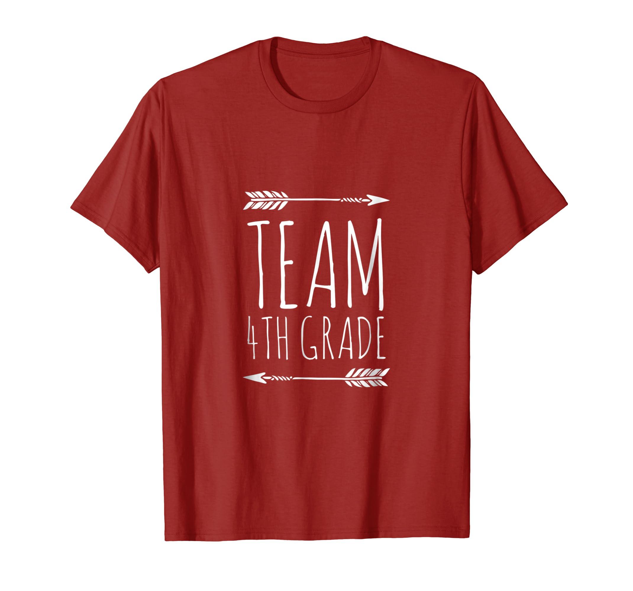 4th Grade Shirt Boys Team Back to School Son Fourth Grader