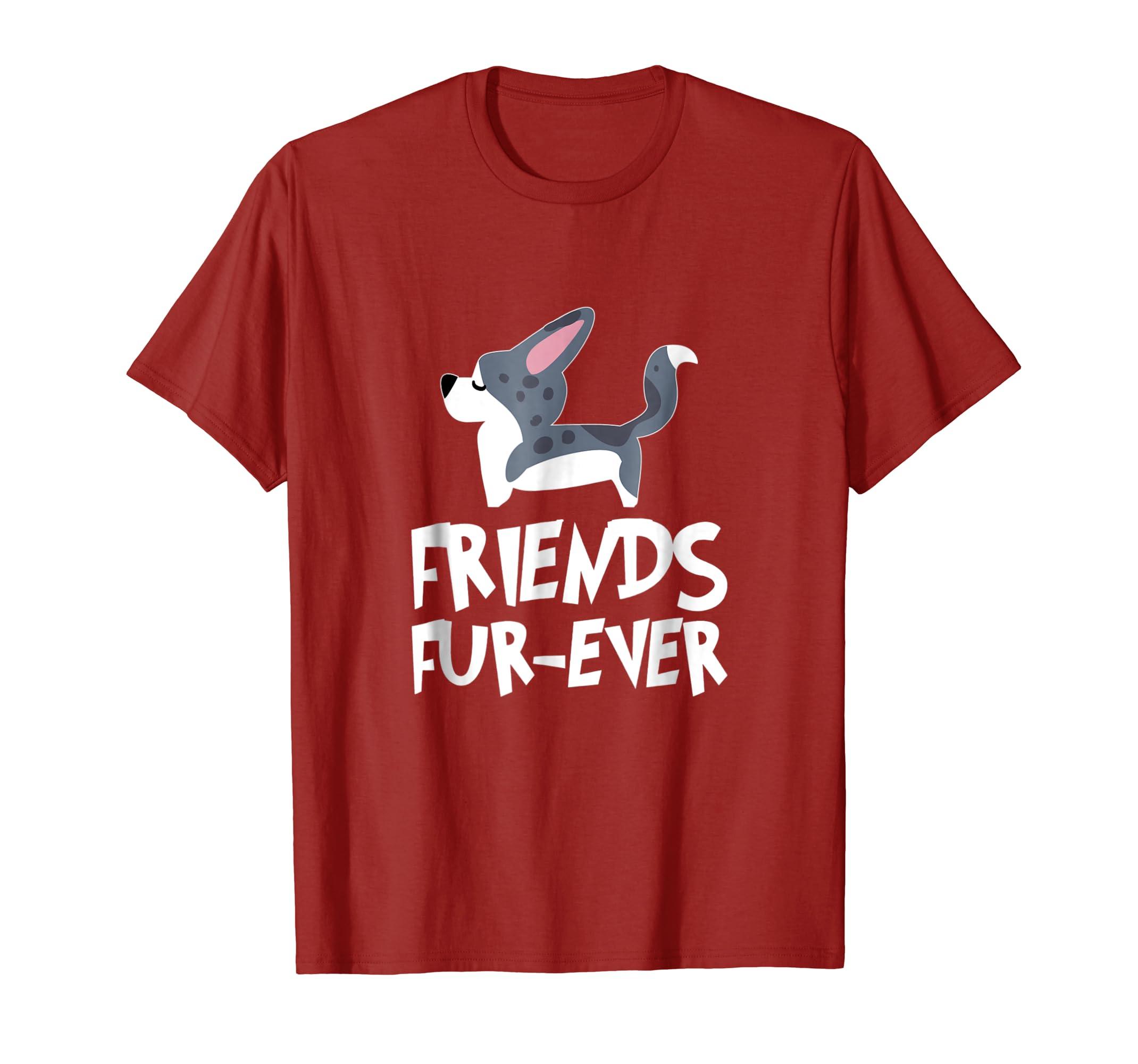 Cardigan Welsh Corgi Friends FUR Ever T Shirt-ln