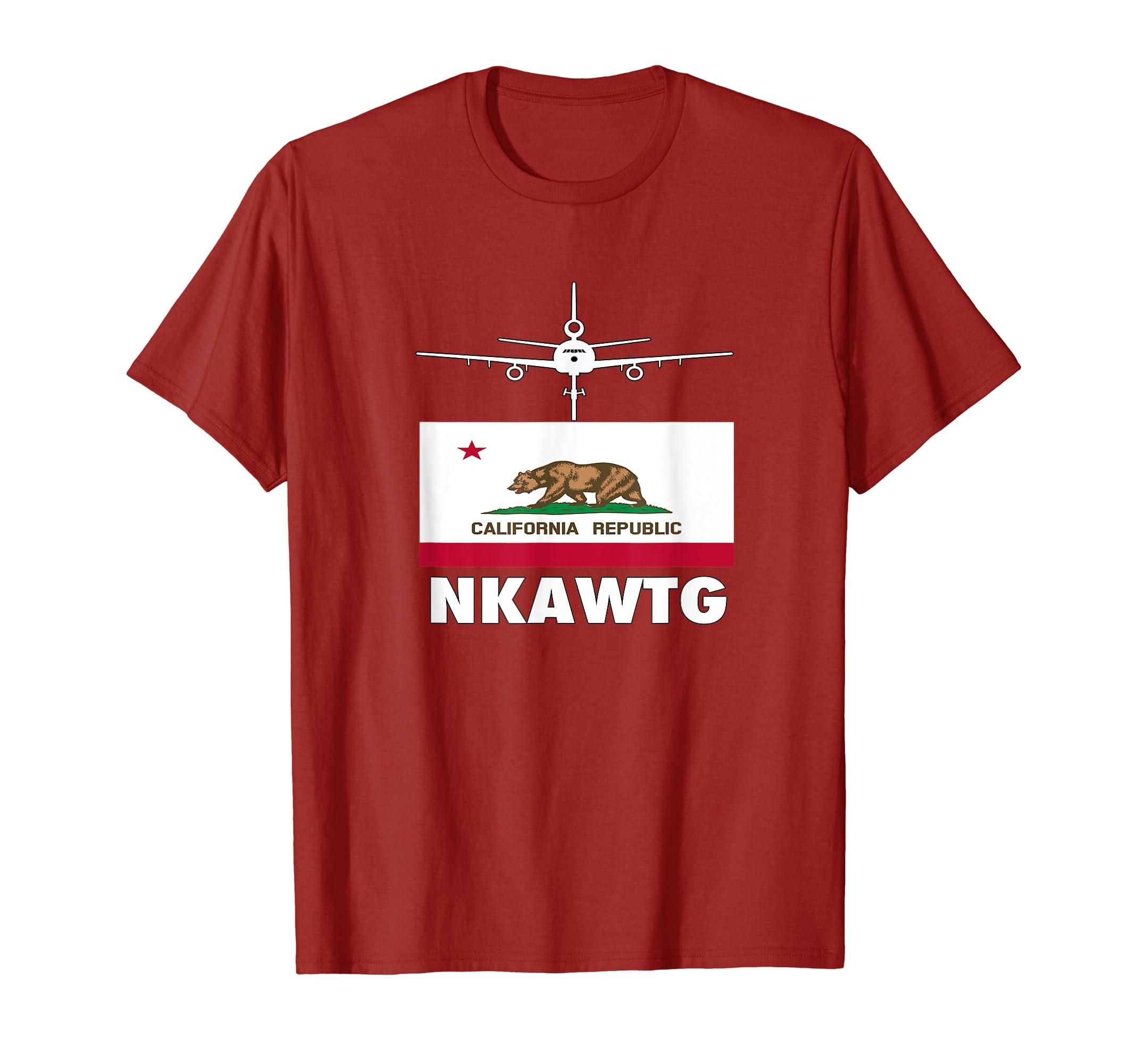 93e4a023 Amazon.com: KC 10 Extender Shirt: NKAWTG California Flag Shirt USAF ...
