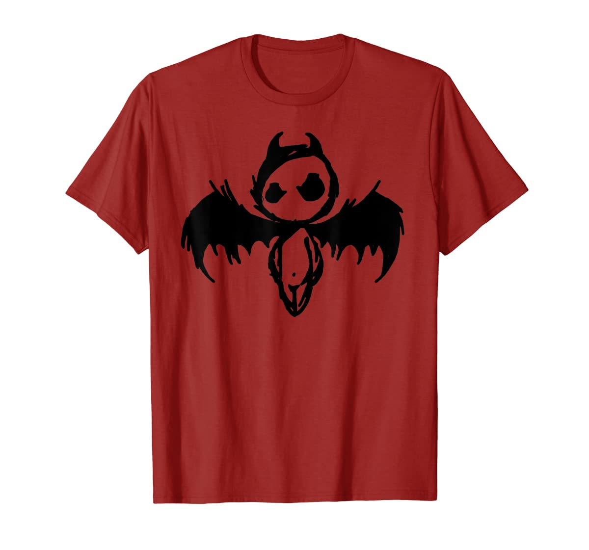 Cute Demon Vintage Couple Matching Halloween Party Costume  T-Shirt-Men's T-Shirt-Red