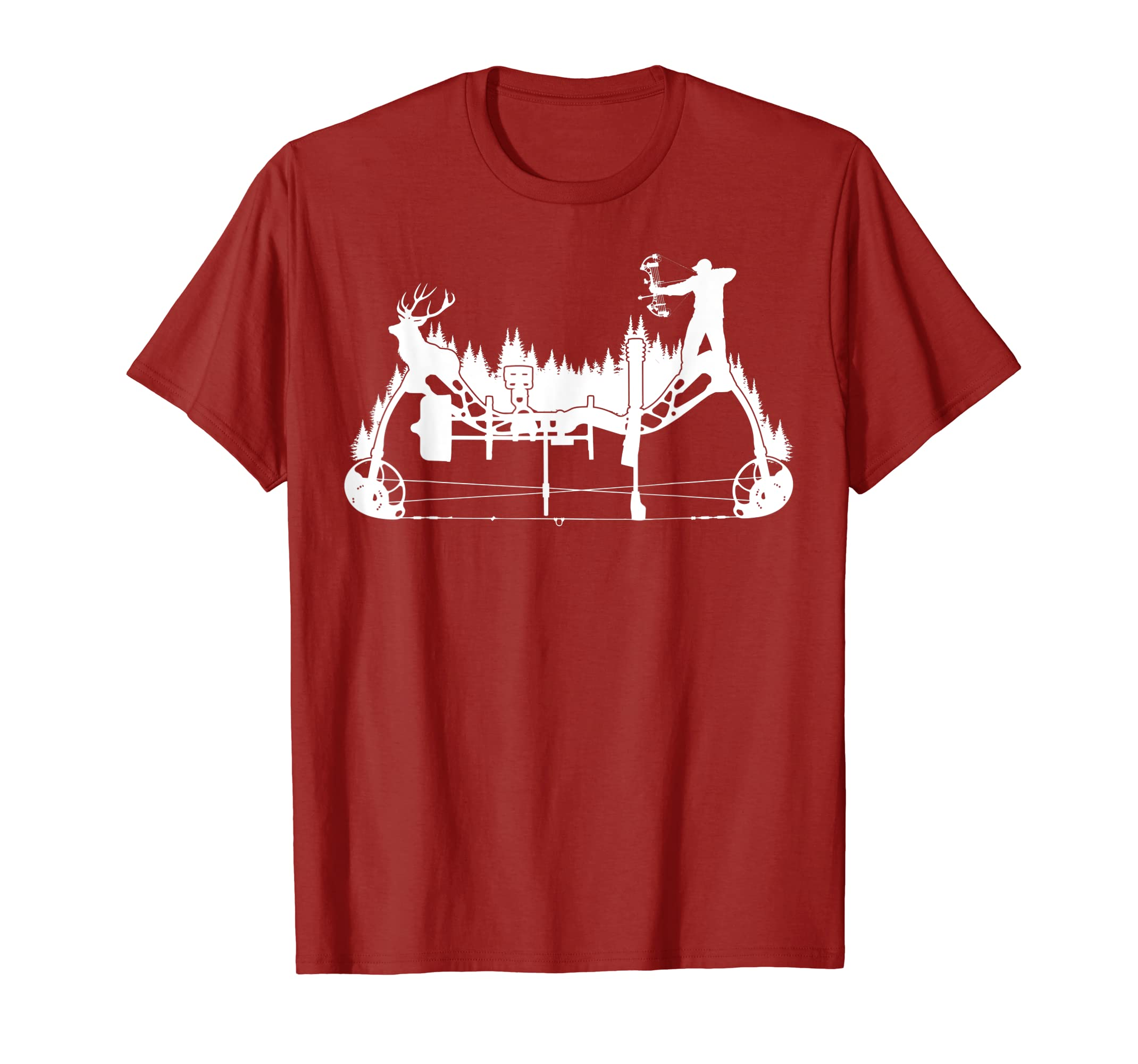 1b463eb175ba2 Amazon.com: Archery Compound Bow Hunting T Shirt: Clothing