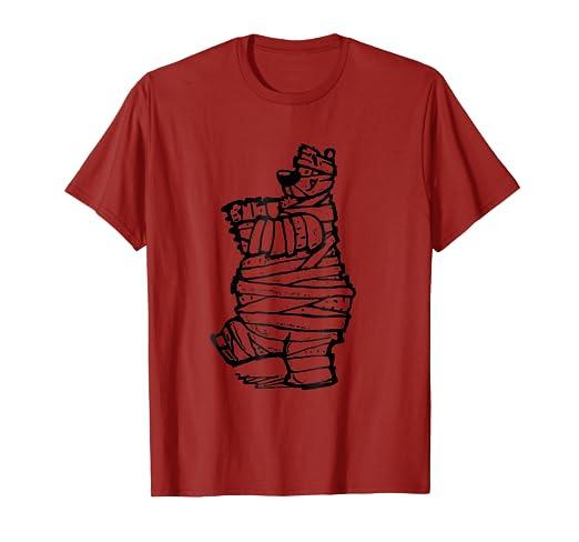 95862d01 Amazon.com: Jolly Bear Supply Co: Mummy Bear Halloween T-Shirt: Clothing