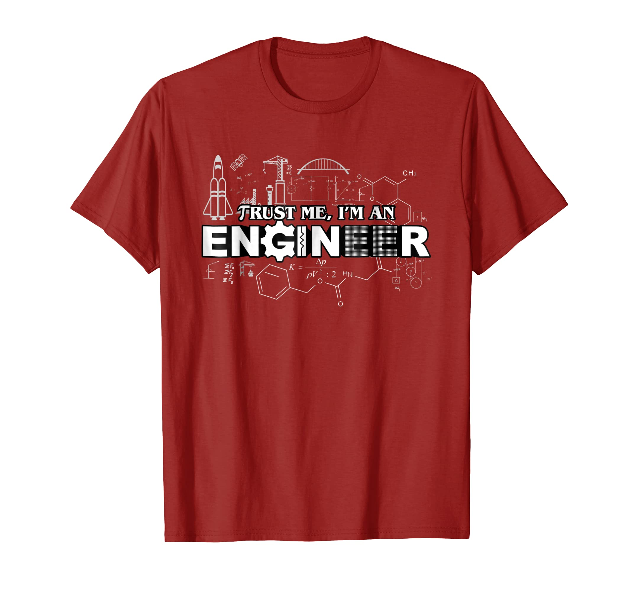 Trust Me I'm An Engineer T Shirt-Teechatpro