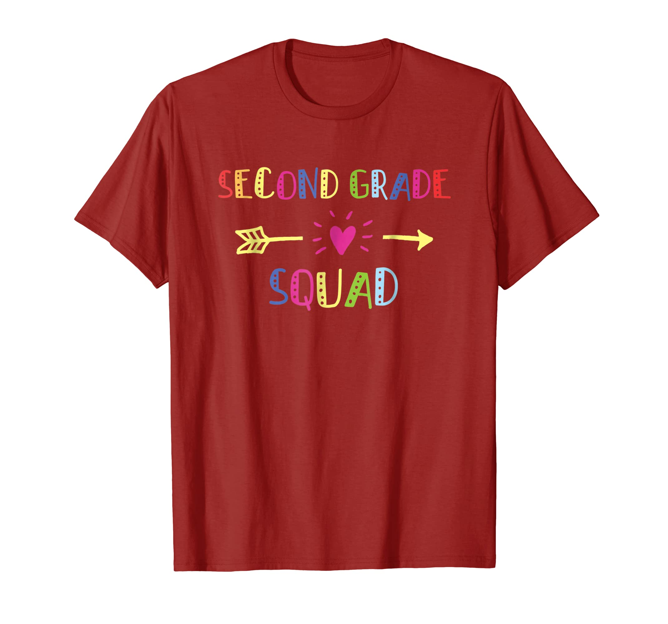 2nd Second Grade Squad Shirt Happy First Day Of School Kids