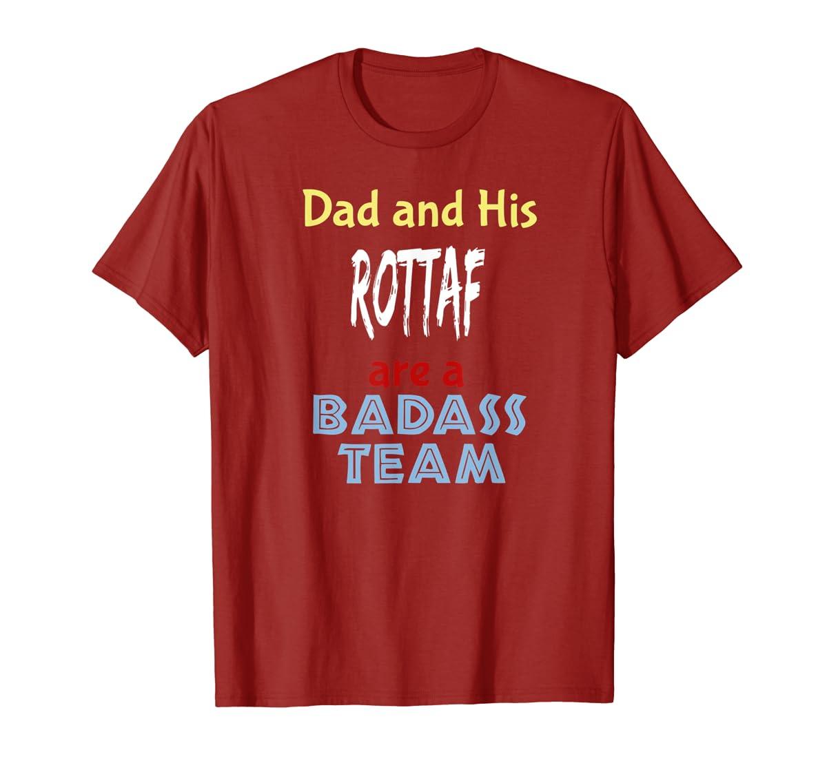 Mens Rottaf Dog Shirt Love Rottweiler + Afghan Hound =  T-Shirt-Men's T-Shirt-Red