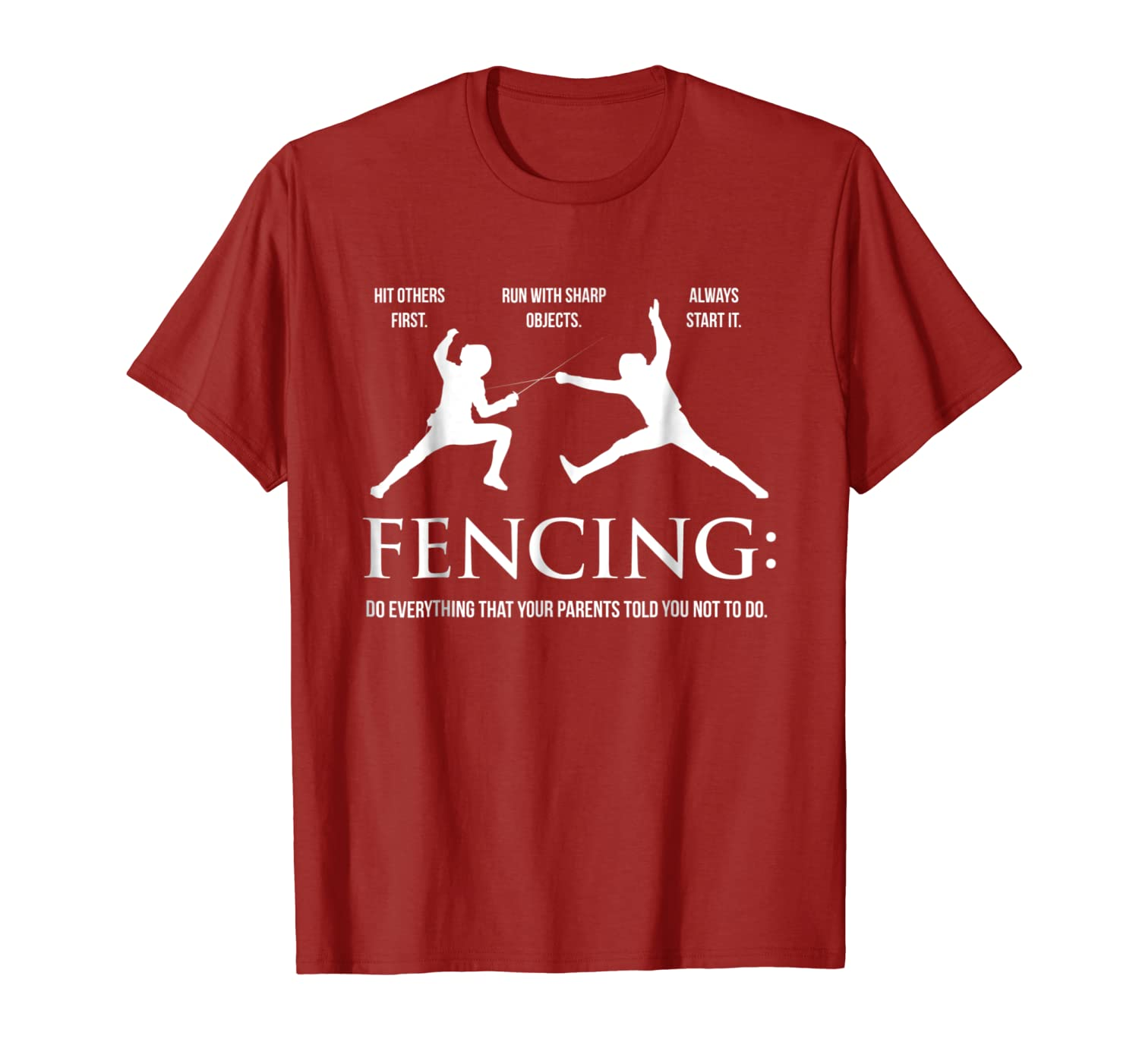 Funny Fencing Shirt – Everything Your Parents Told You-Yolotee