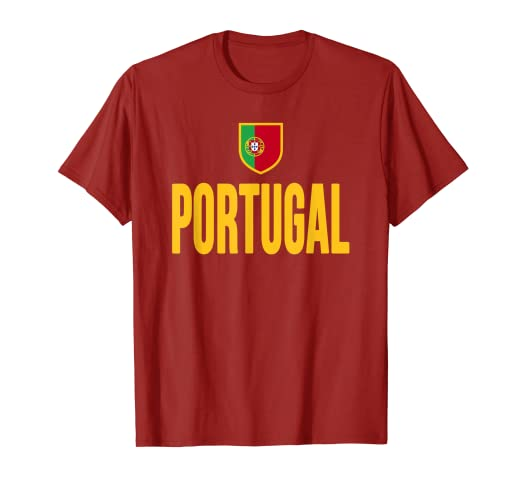 5db70ec8a54a Image Unavailable. Image not available for. Color  Portugal T-shirt ...
