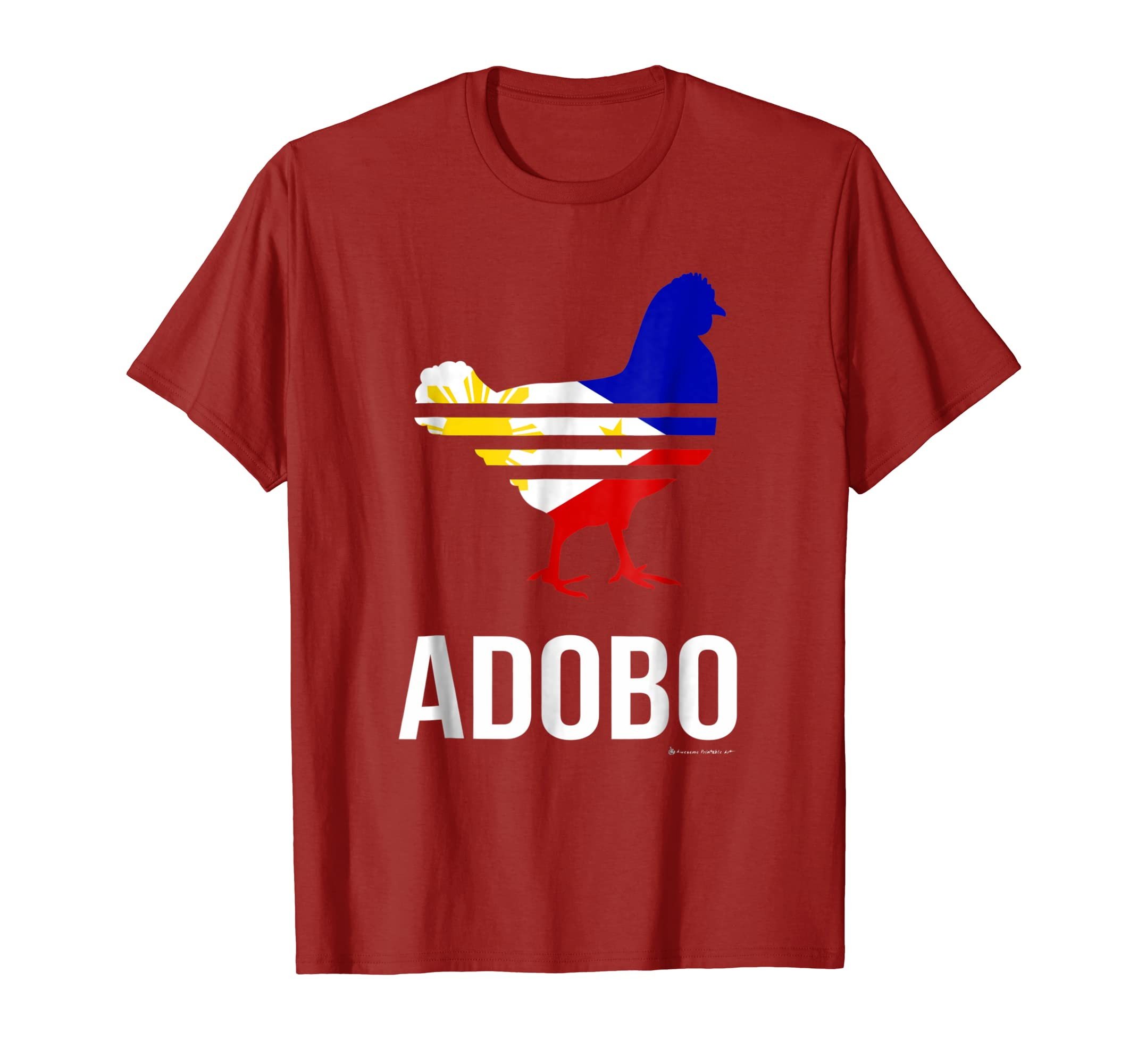 Chicken adobo shirt funny philippines pinoy flag shirt-azvn