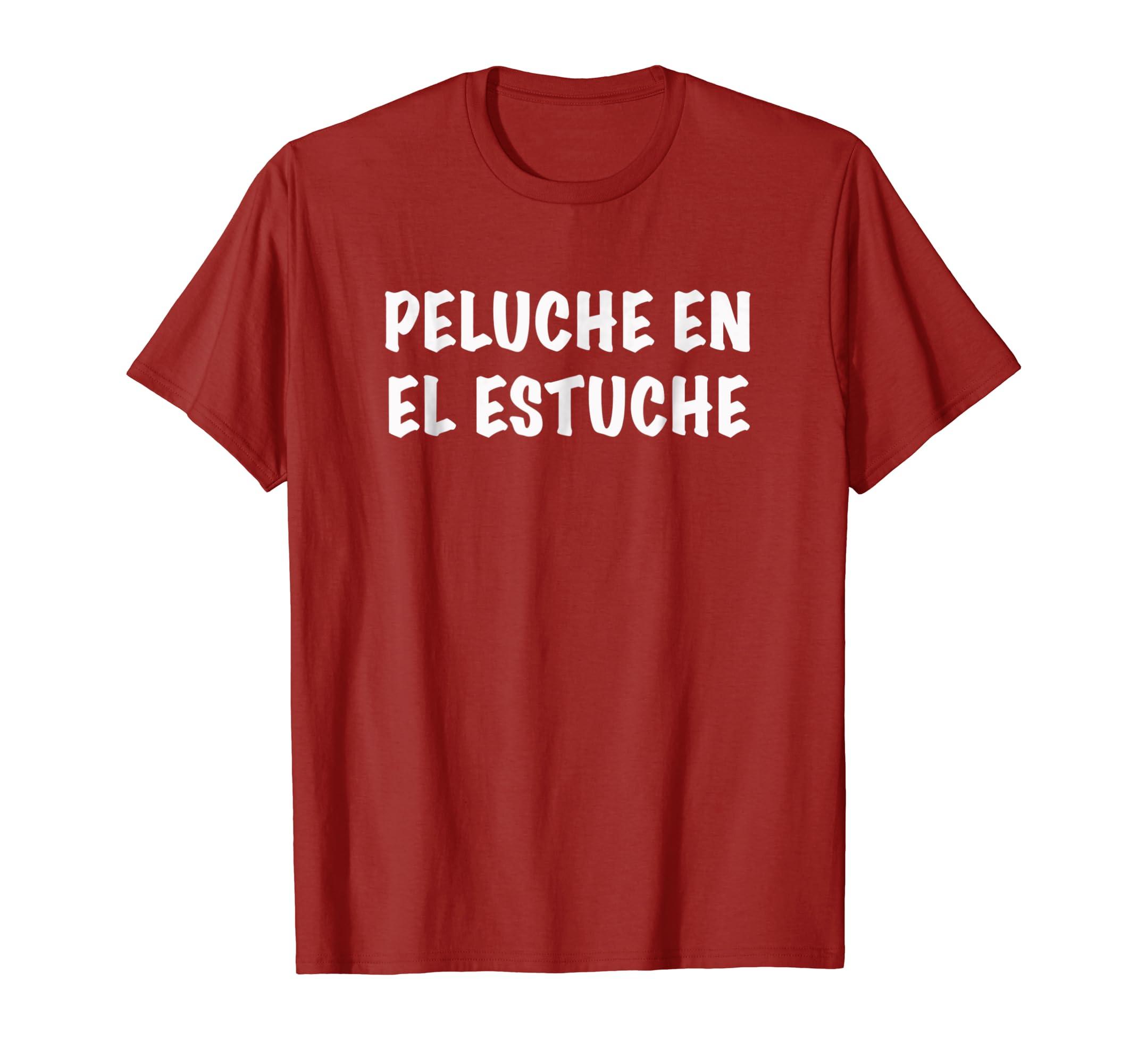 Amazon.com: QUOTES IN SPANISH FUNNY COMIC T-SHIRT PELUCHE EN ...