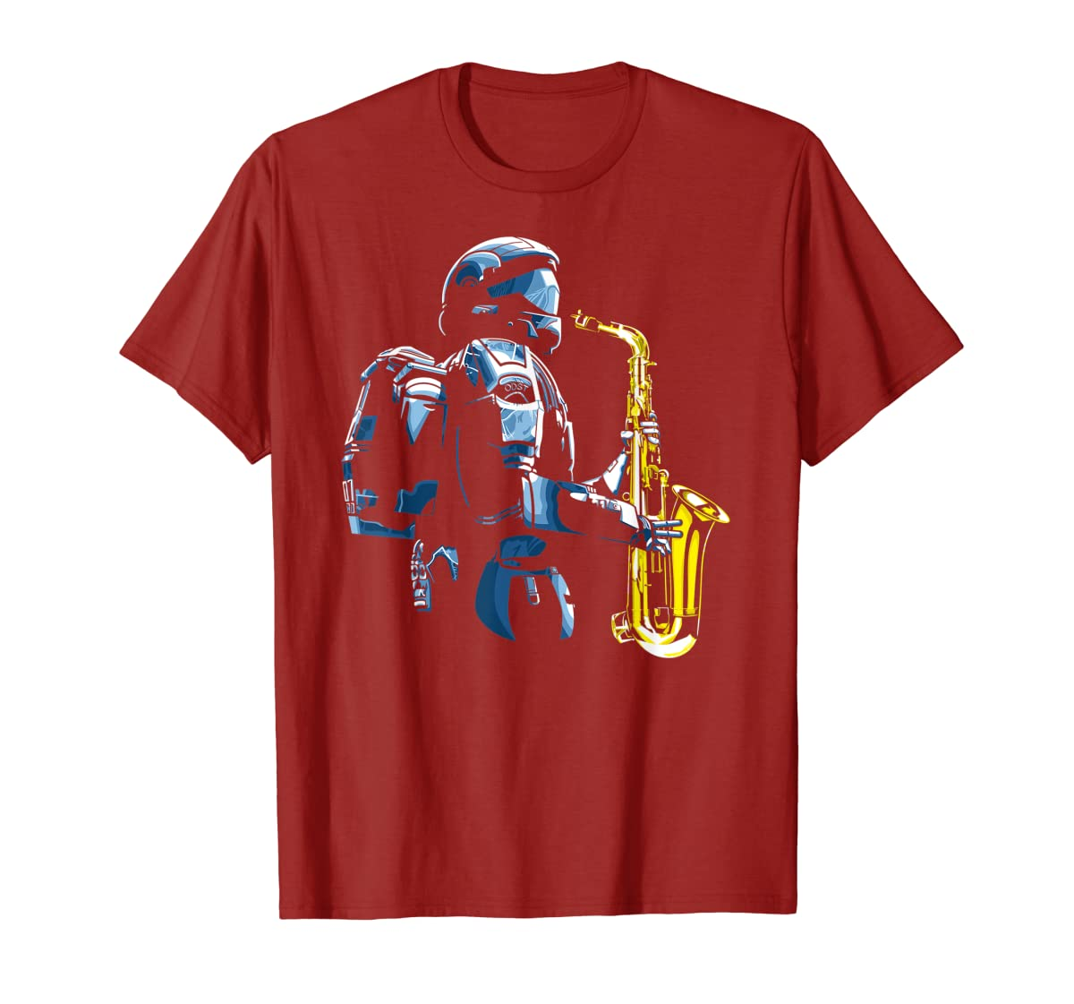 Halo ODST Jazz T-Shirt-Men's T-Shirt-Red