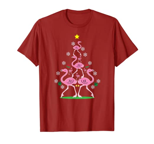 34a4fb524 Image Unavailable. Image not available for. Color: Flamingo Christmas Tree  ...
