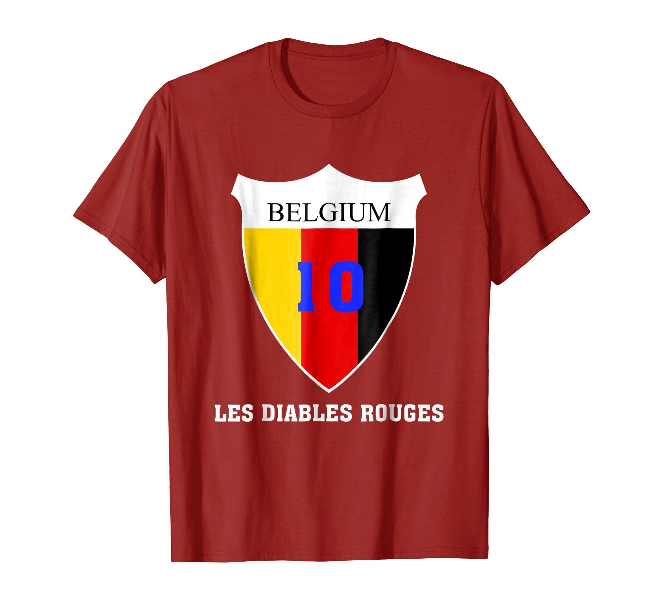 2018 Belgium World Football Tshirt-fa