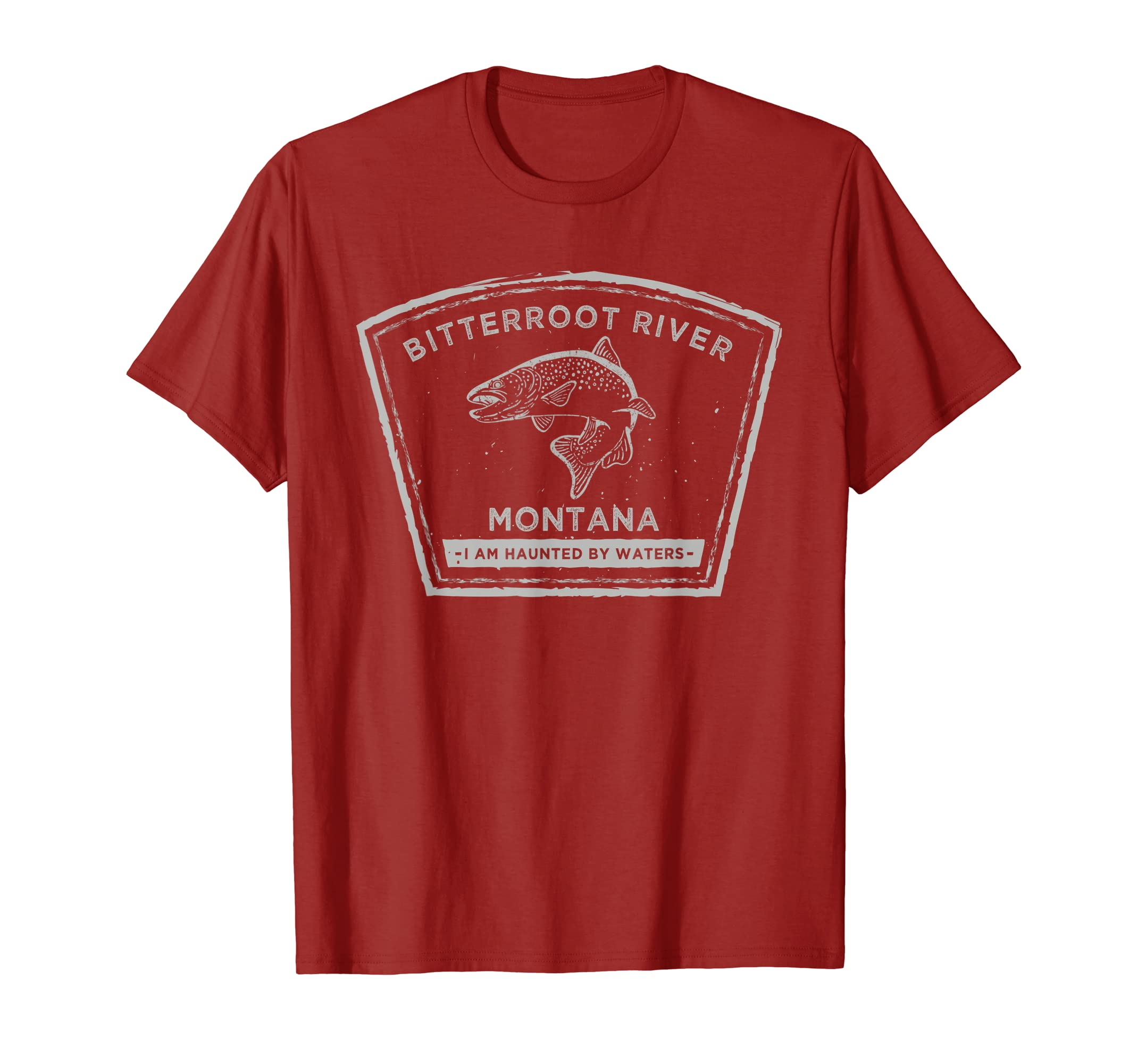 Bitterroot River Montana - Fly Fishing Shirt