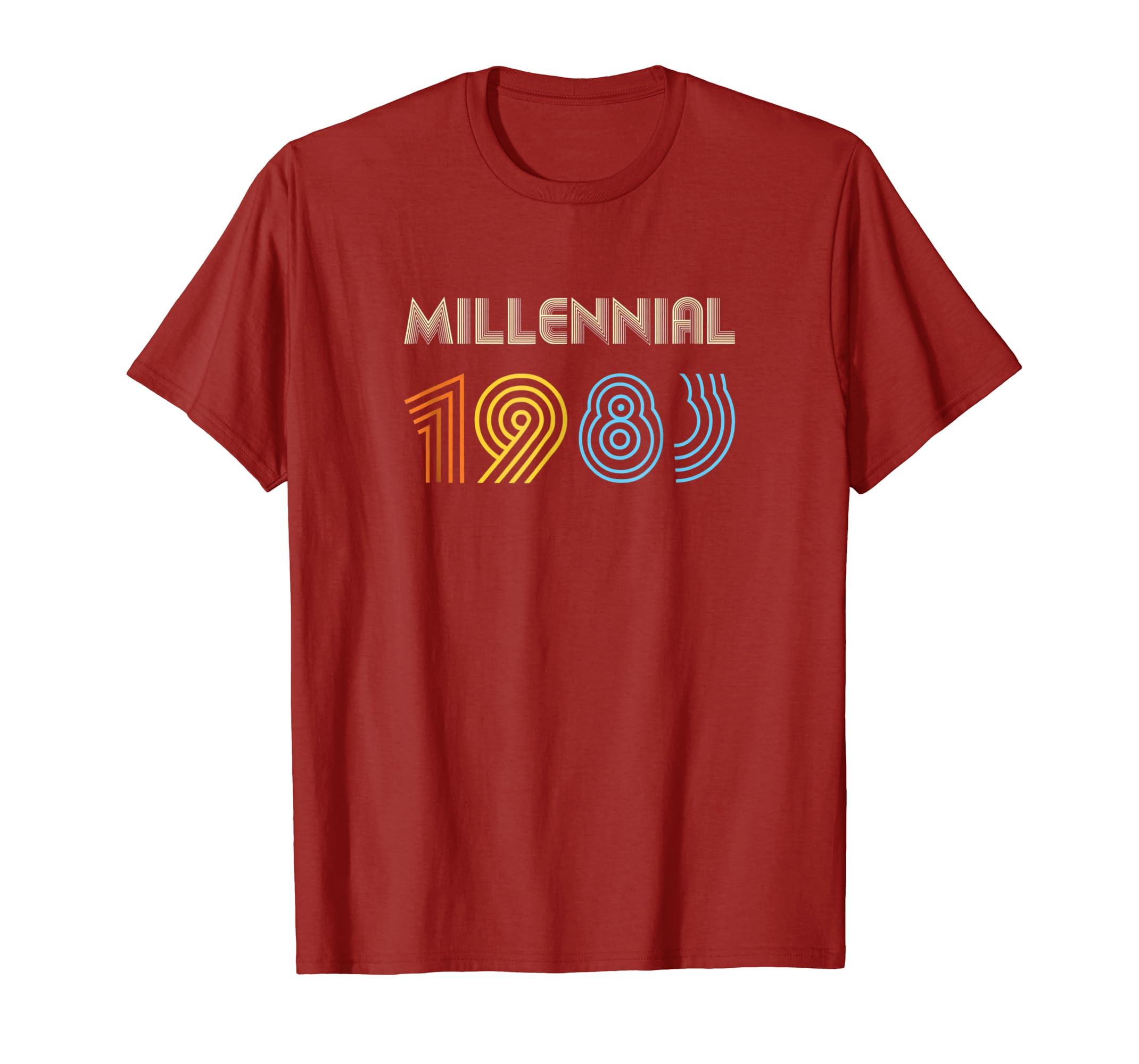 Xeire Millennial Born in 1983 Birthday Gift Shirt-SFL