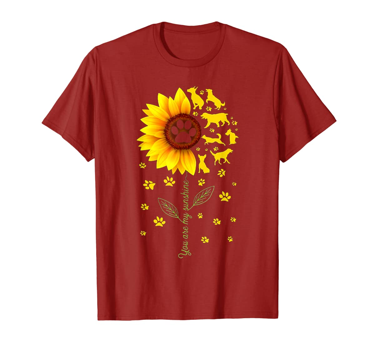 You are my Sunshine t-shirt-Men's T-Shirt-Red