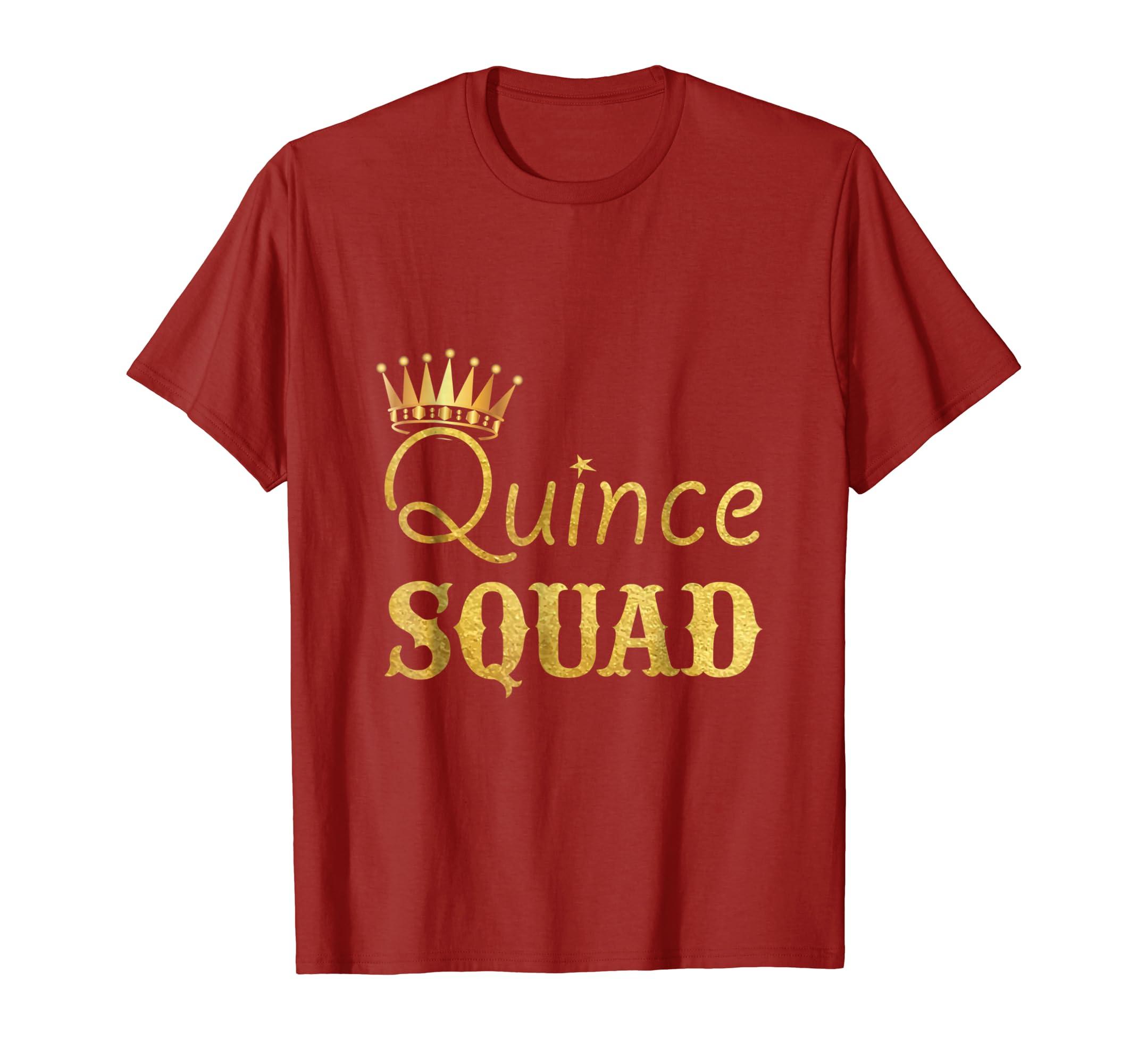 2a7bd78d39e47 Amazon.com  Quince Birthday Shirt - Quinceanera - Camisa De Quinceanera   Clothing