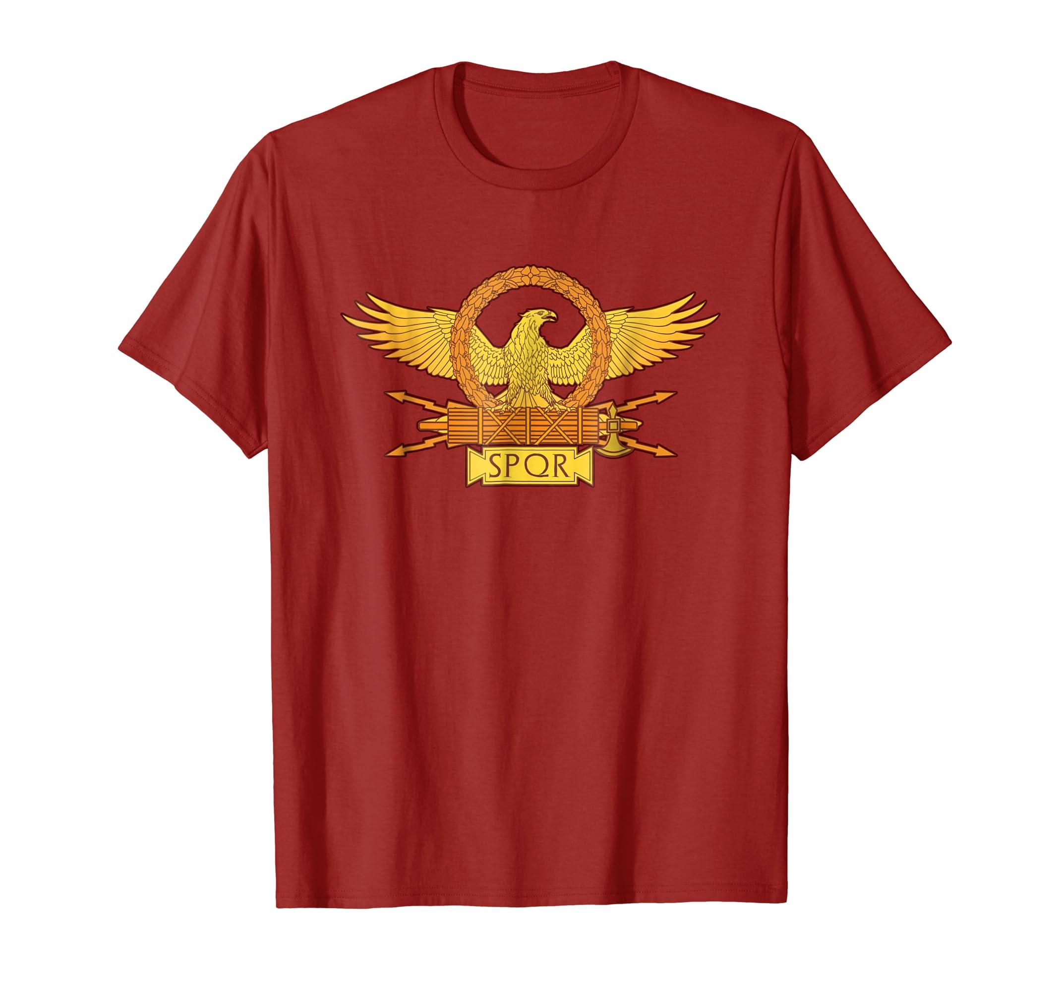 the best attitude 267e0 1eb36 SPQR Roman Eagle Standard - SPQR T-Shirt
