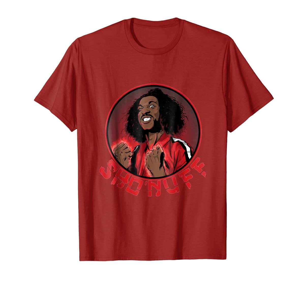 Shon uff shogun of harlem T Shirt-Men's T-Shirt-Red