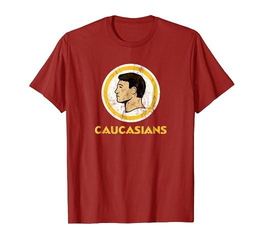 Amazon.com  CAUCASIANS T-Shirt THE ORIGINAL  Clothing 6a00f1452
