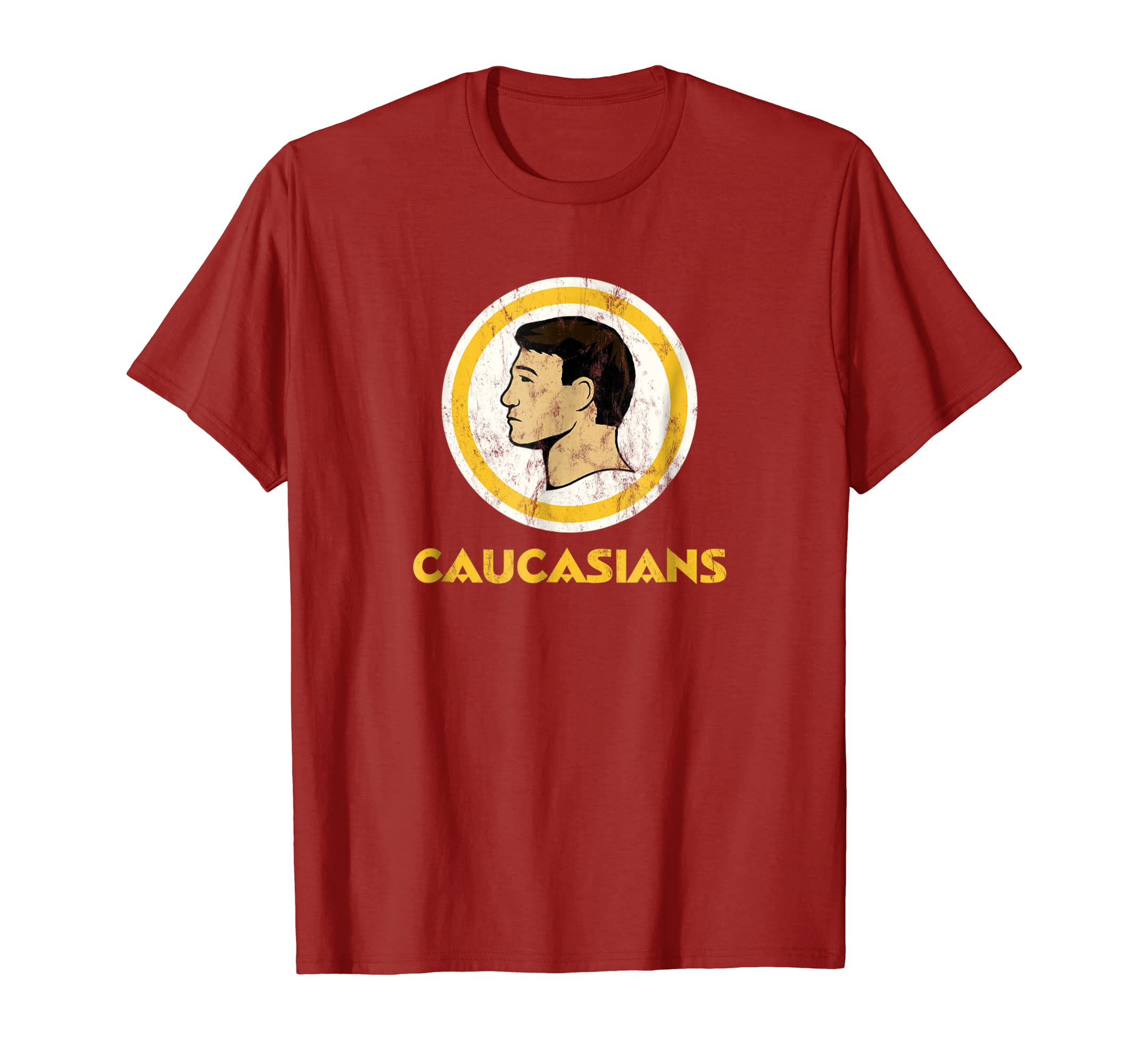 CAUCASIANS T-Shirt THE ORIGINAL-Yolotee