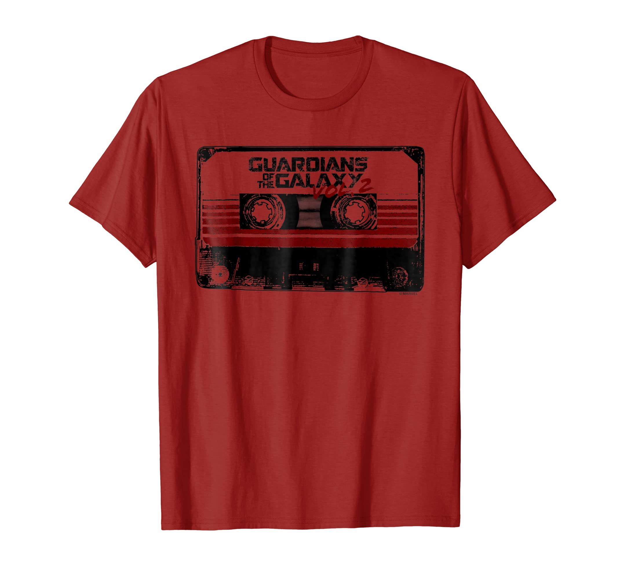 Guardians of the Galaxy 2 Cassette Graphic T Shirt-azvn