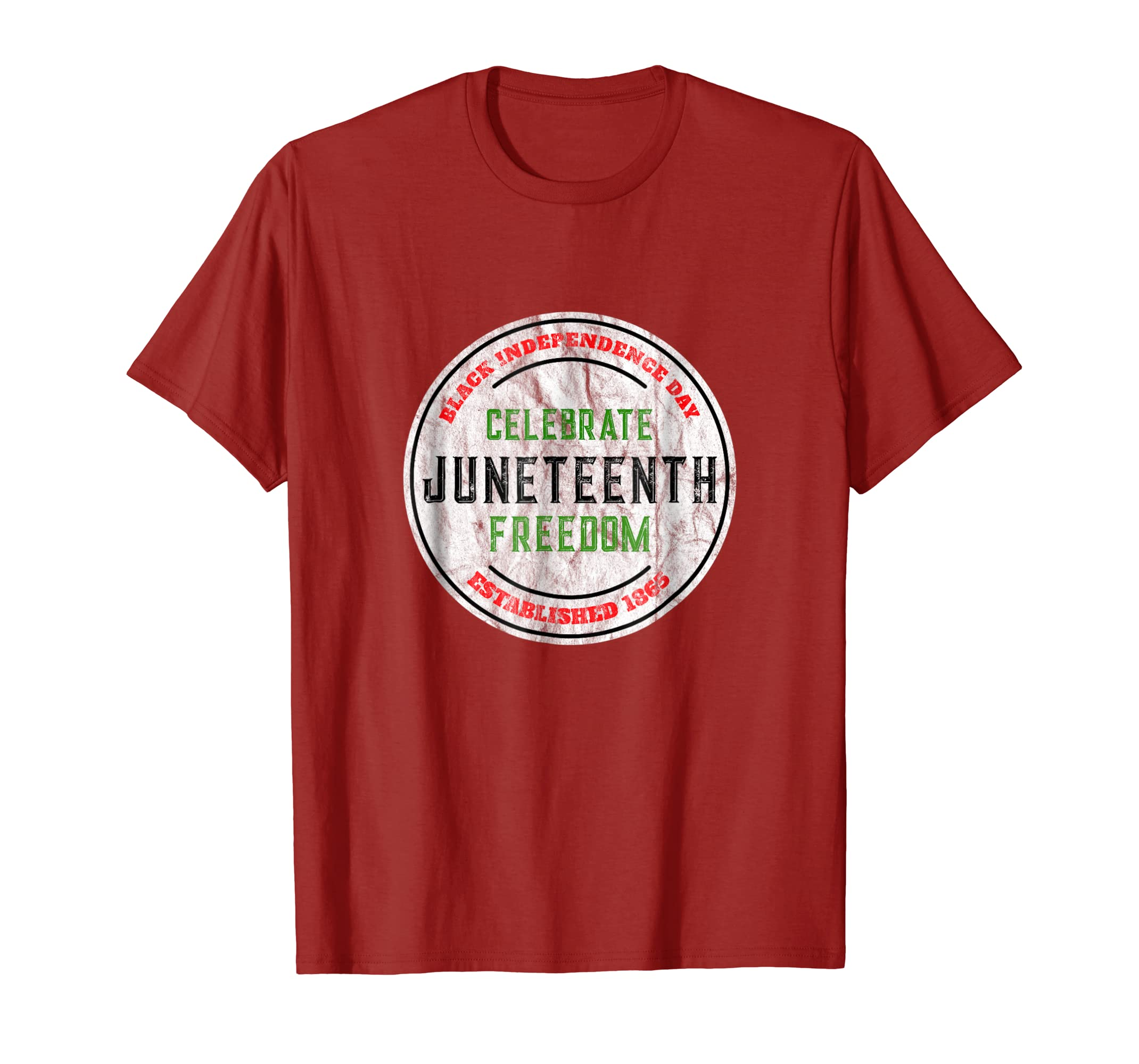 Juneteenth Tshirt Celebrate Black Independence Freedom Shirt-SFL
