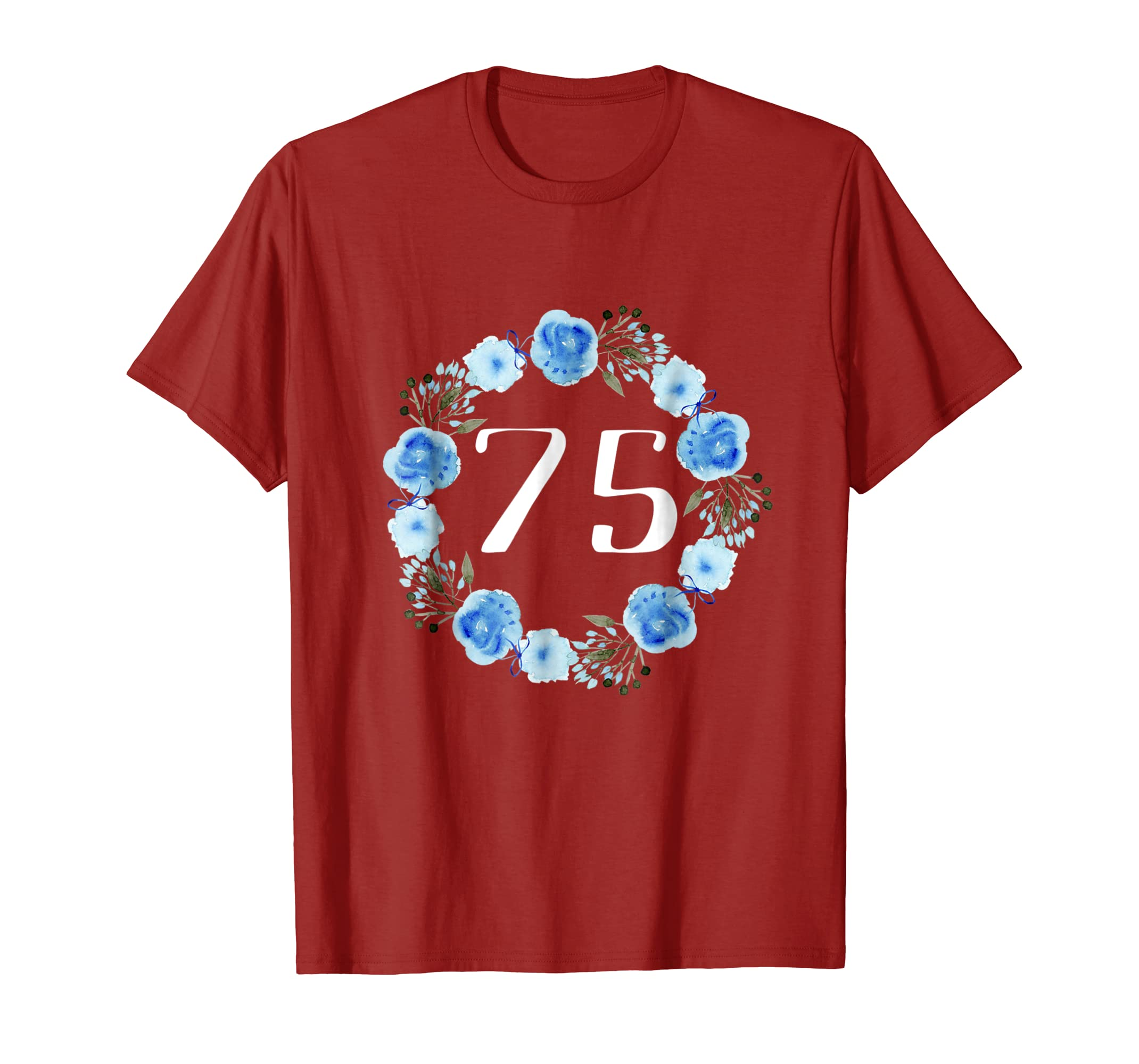 Amazon 75th Birthday Gifts For Women Shirts 75 Year Old Woman Clothing
