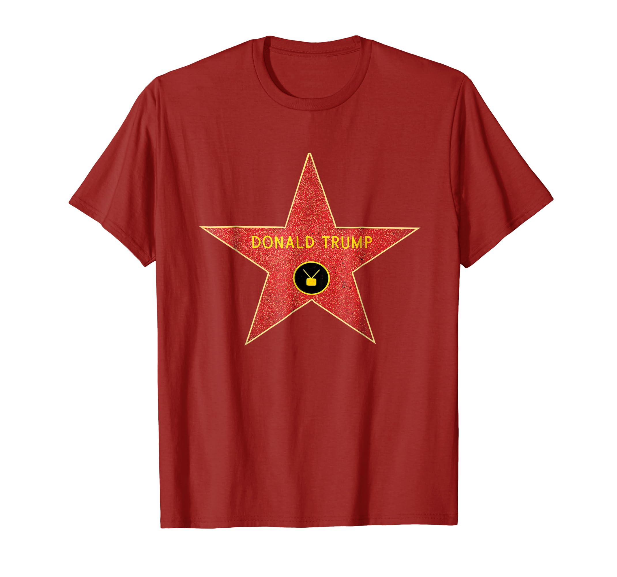Hollywood Walk of Fame Star Donald Trump T Shirt