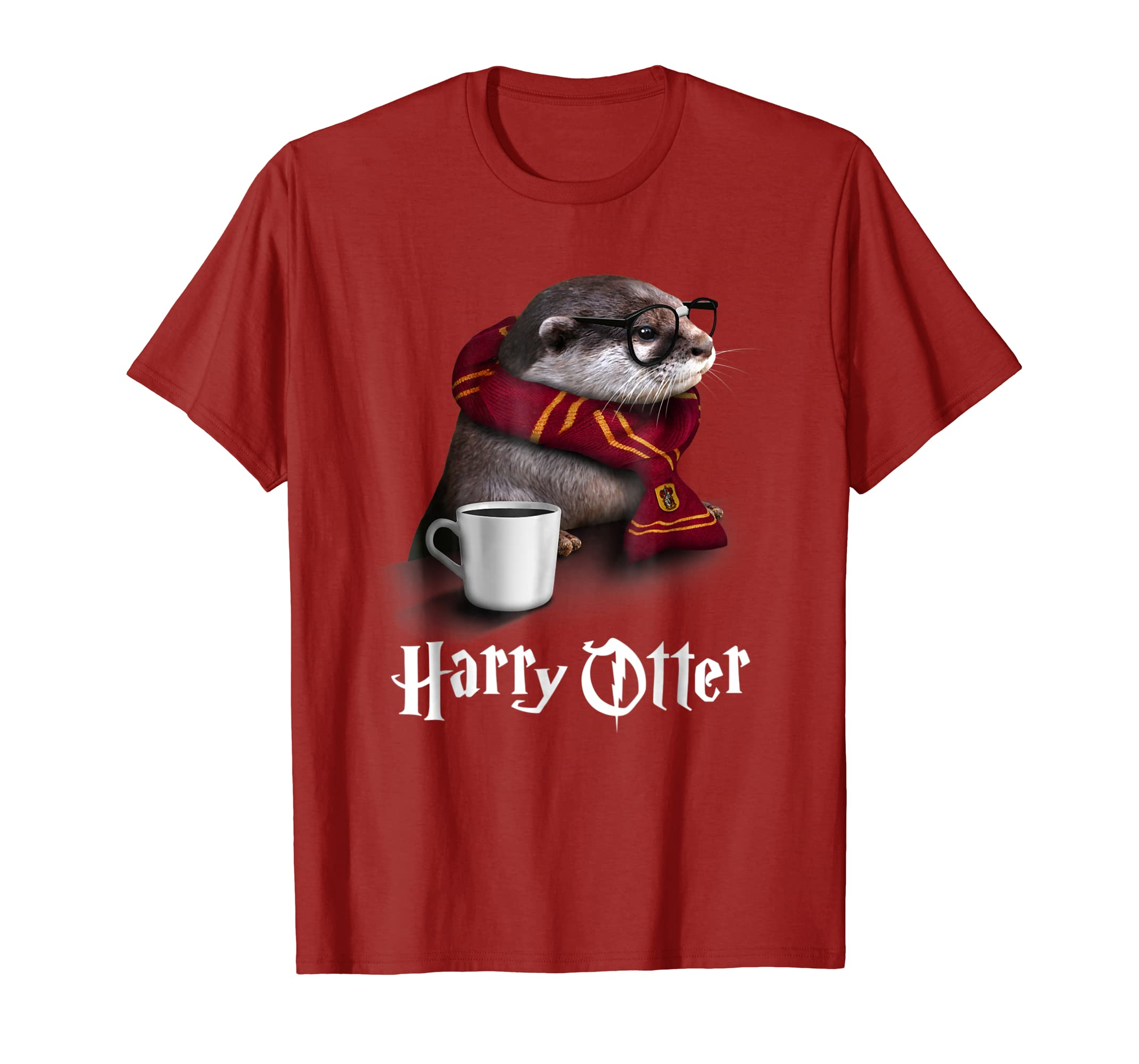 7109dcc1f Amazon.com: Funny Otter T-shirt - Harry Otter Shirt for Otter lover:  Clothing