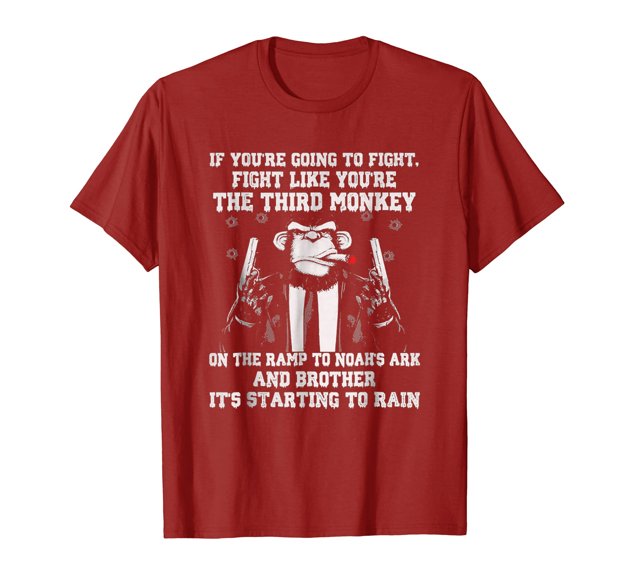 If You're Going To Fight Fight Like You're The Third Monkey-4LVS