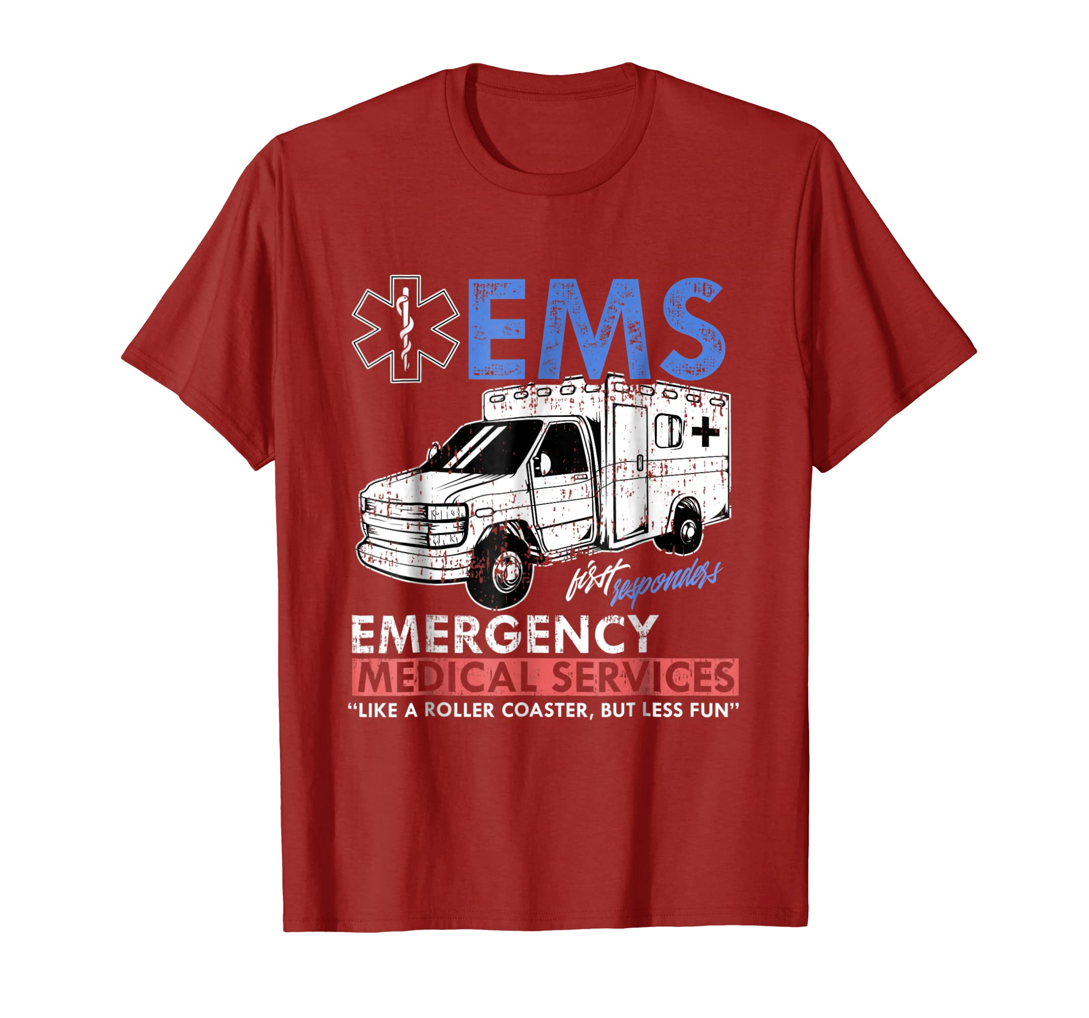 Ambulance Funny EMS T shirt for Emergency Medical Services-Bawle